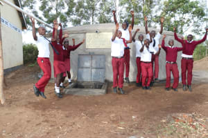 The Water Project: Friends School Ikoli Secondary -  Jumping For Joy Of Clean Water