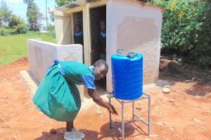 The Water Project: Bumbo Primary School -  Handwashing