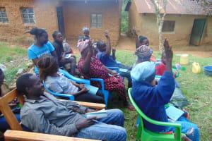The Water Project: Mubinga Community, Mulutondo Spring -  Active Participation