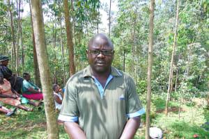 The Water Project: Kitulu Community, Kiduve Spring -  Sub Chief Reuben Amuyunzu