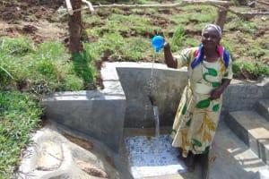 The Water Project: Mukangu Community, Metah Spring -  Look Clean Water