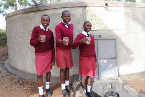 The Water Project: Friends School Ikoli Secondary -  Cheers To Clean Water