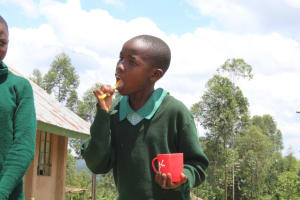 The Water Project: Bugute Lutheran Primary School -  Toothbrushing Practical