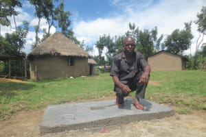 The Water Project: Kalenda A Community, Webo Simali Spring -  New Slab Owner