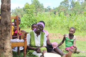 The Water Project: Tumaini Community, Ndombi Spring -  Listening