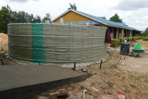 The Water Project: Sawawa Secondary School -  Sugar Sacks Tied To Walls