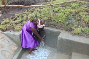 The Water Project: Bukhaywa Community, Shidero Spring -  Happy Day