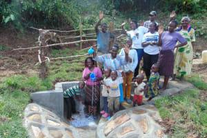The Water Project: Mukangu Community, Metah Spring -  Celebrating The Spring