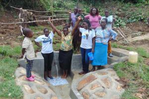 The Water Project: Mukangu Community, Metah Spring -  United We Grow