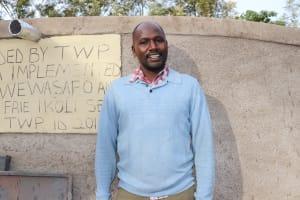 The Water Project: Friends School Ikoli Secondary -  Teacher Nyongesa Marango
