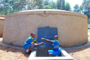 The Water Project:  Pupils Enjoying Water