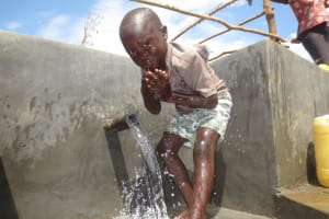 The Water Project: Kalenda A Community, Webo Simali Spring -  Feeling Refreshed