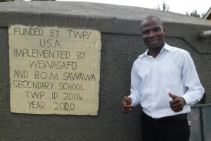 The Water Project: Sawawa Secondary School -  Teacher Mr Barasa In Charge Of Student Health Club
