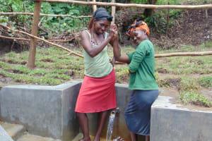 The Water Project: Mubinga Community, Mulutondo Spring -  United We Grow