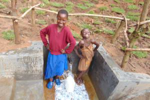 The Water Project: Maondo Community, Ambundo Spring -  Giggles