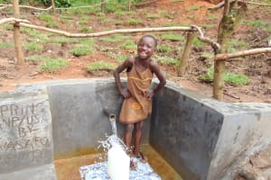 The Water Project: Maondo Community, Ambundo Spring -  All Smiles