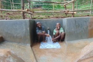 The Water Project: Kitulu Community, Kiduve Spring -  Made You Laugh