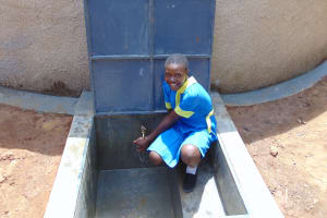 The Water Project:  All Smiles At The Tank