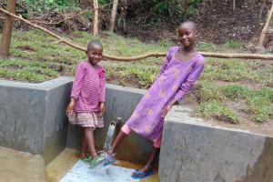 The Water Project: Mubinga Community, Mulutondo Spring -  Cooling Off