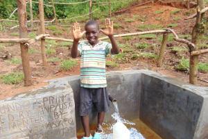The Water Project: Maondo Community, Ambundo Spring -  Thank You