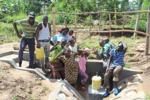 The Water Project: Kalenda B Community, Lumbasi Spring -  Strike A Pose