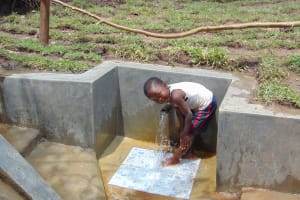 The Water Project: Mubinga Community, Mulutondo Spring -  Pure Joy