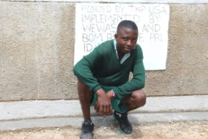 The Water Project: Bugute Lutheran Primary School -  Posing With Latrines