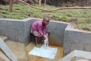 The Water Project: Mubinga Community, Mulutondo Spring -  Eyeing The Group