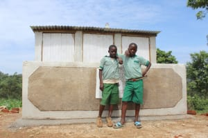 The Water Project: Bugute Lutheran Primary School -  Unity In Improved Hygiene
