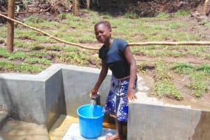 The Water Project: Mubinga Community, Mulutondo Spring -  Easy Filling Up