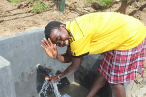 The Water Project: Tumaini Community, Ndombi Spring -  Thank You