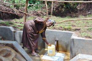 The Water Project: Mubinga Community, Mulutondo Spring -  Thank You
