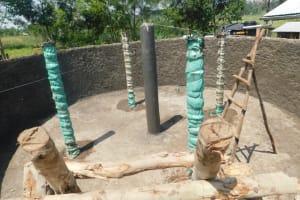 The Water Project: Khwihondwe SA Primary School -  Constuction Of Surport Pillars