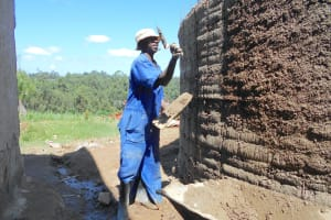The Water Project: Bugute Lutheran Primary School -  Cementing