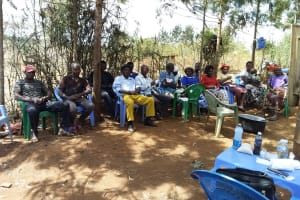The Water Project: Ngitini Community D -  Training Participants