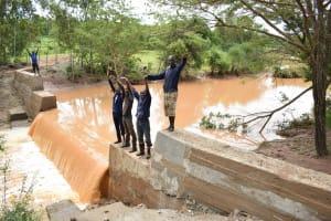 The Water Project: Ngitini Community D -  Celebrating The Dam