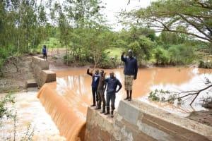 The Water Project: Ngitini Community D -  Shg Members At The Dam