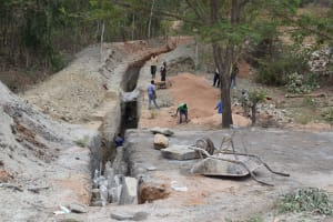 The Water Project: Ngitini Community D -  Trenching