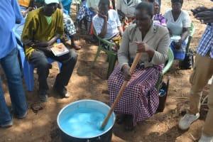 The Water Project: Wamwathi Community -  Mixing Soap