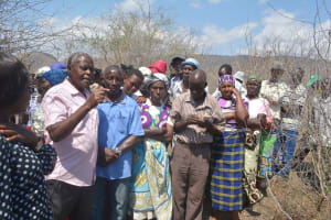 The Water Project: Wamwathi Community -  Shg Members At The Training