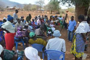 The Water Project: Wamwathi Community -  Training Lessons
