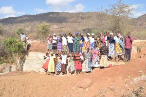 The Water Project: Wamwathi Community -  Celebrating At The New Dam