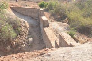 The Water Project: Wamwathi Community -  Complete Dam