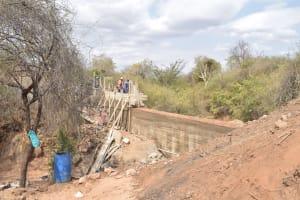 The Water Project: Wamwathi Community -  Phase Dam Progress