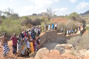 The Water Project: Wamwathi Community -  Shg Members At Their New Dam