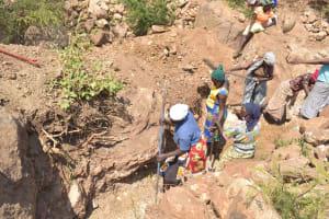 The Water Project: Wamwathi Community -  Trenching
