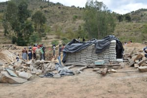 The Water Project: Kyamwao Community -  Cement Bags