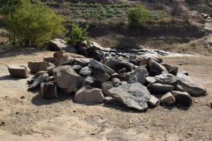 The Water Project: Kyamwao Community -  Rocks For Construction