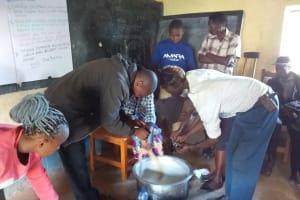 The Water Project: Kyamwao Community -  Soapmaking