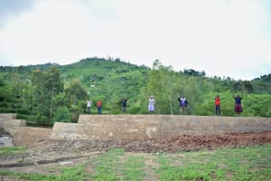 The Water Project: Kyamwao Community -  Celebrating On The Dam